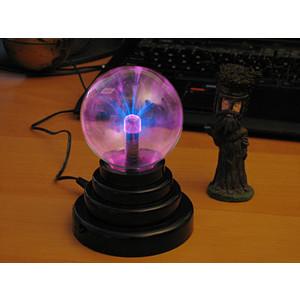 Usb plasma ball desk