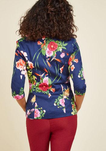 Fab floral designer blazer2