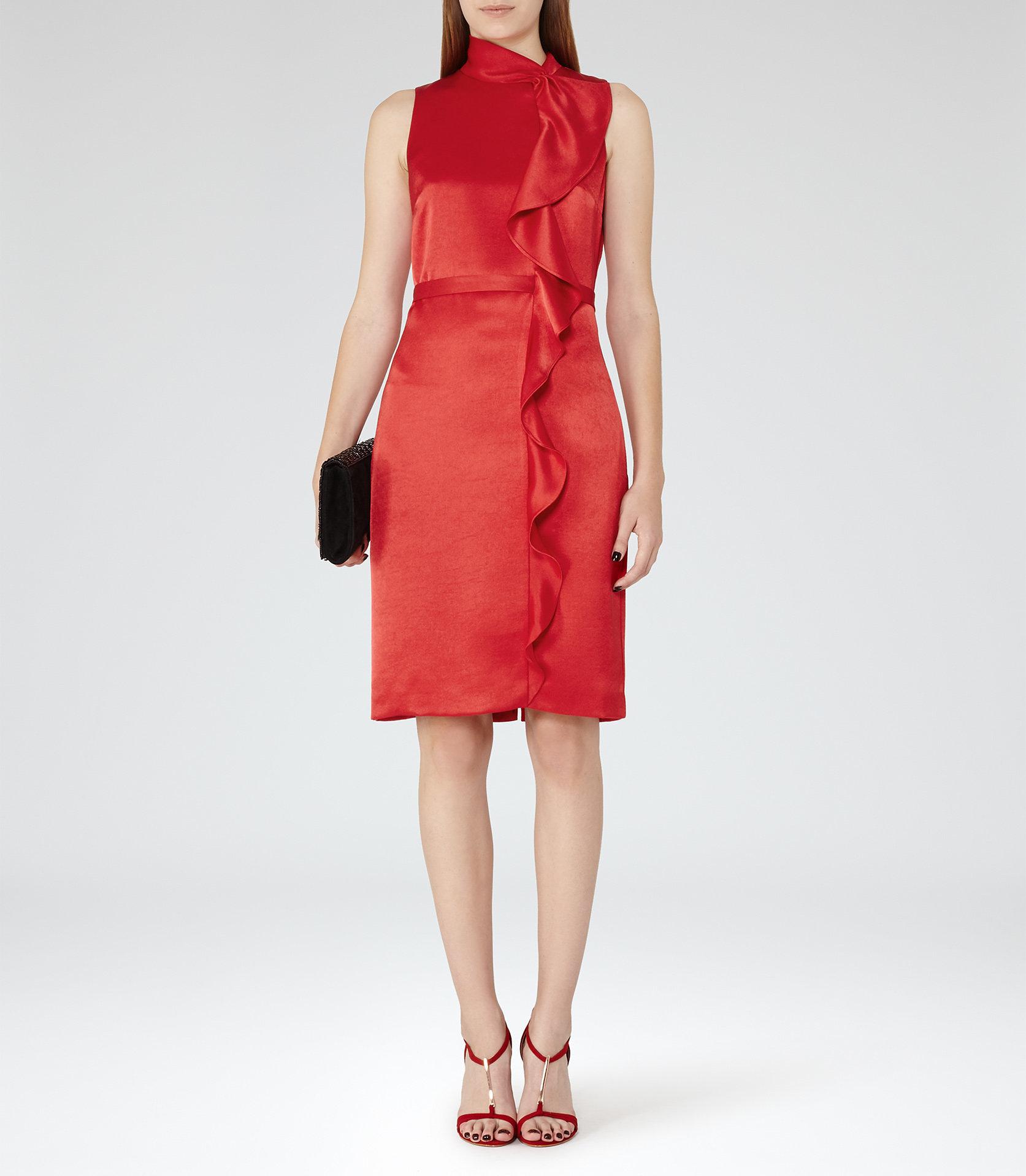 Lola china red dress
