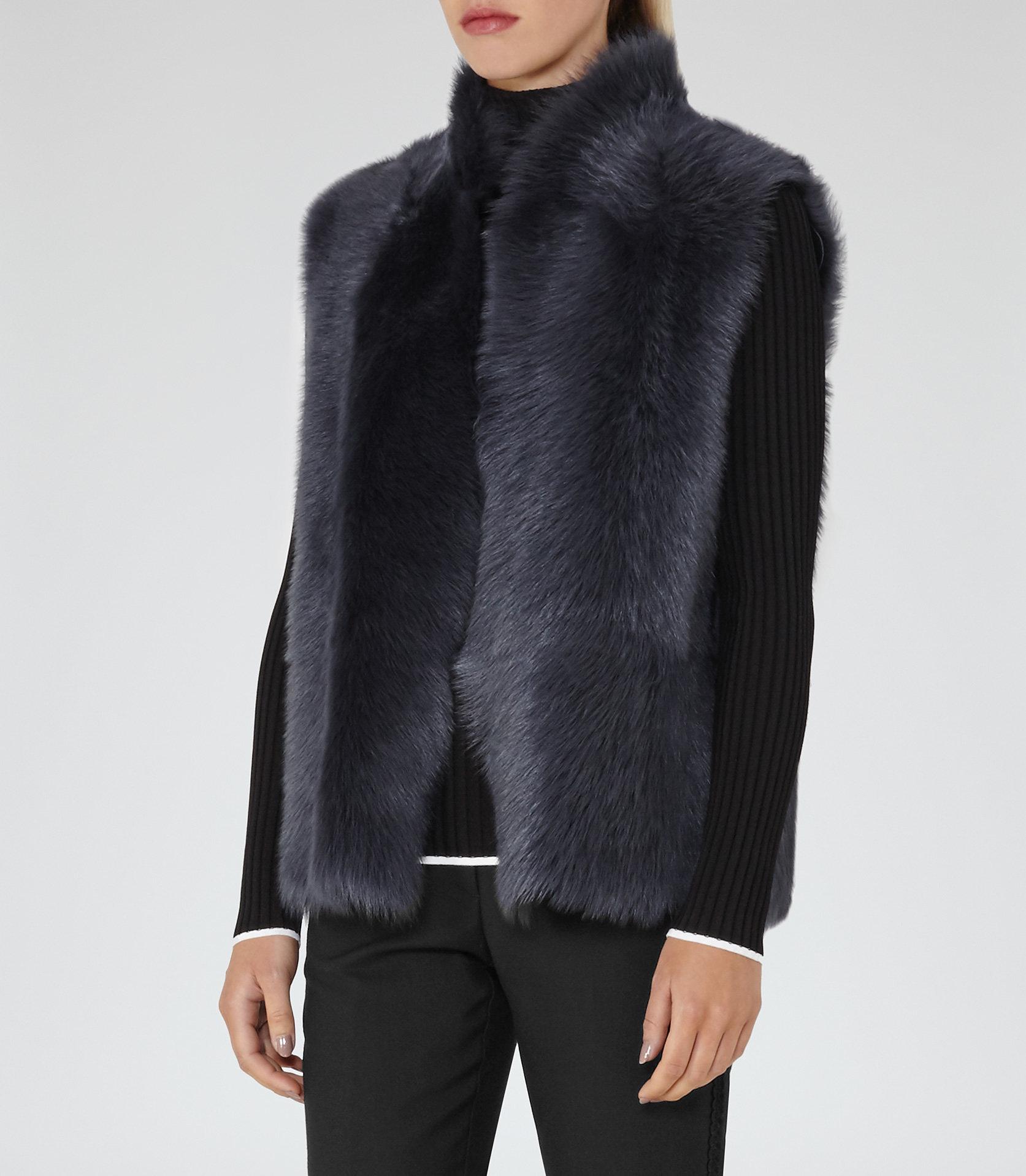 Tessa fur vest 1