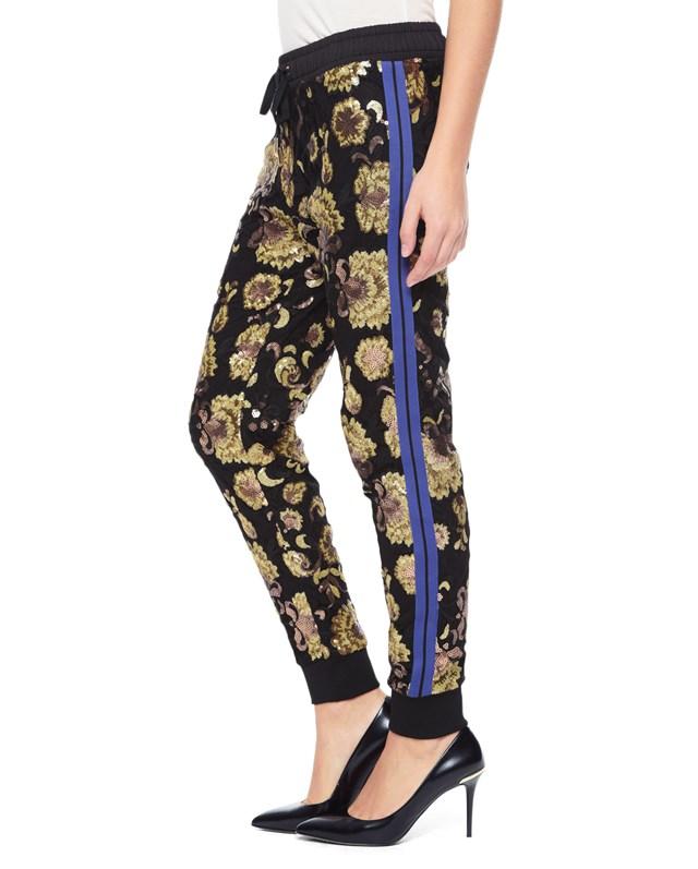 Embellished lace pant2