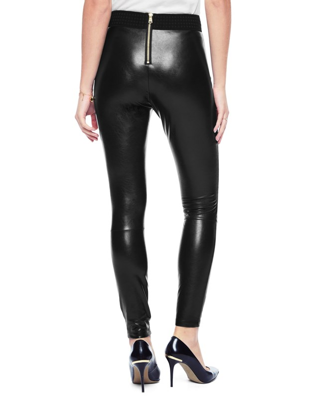 Faux leather legging2