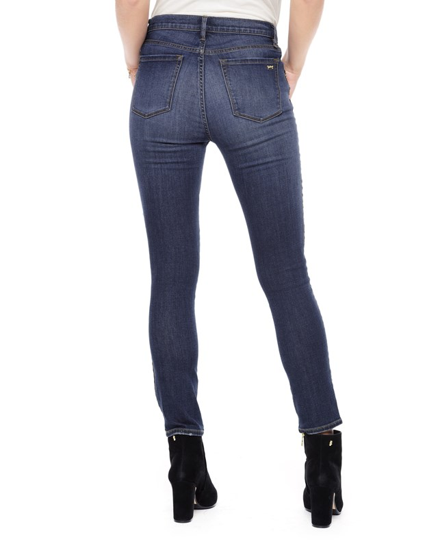 Chain trimmed skinny jean2