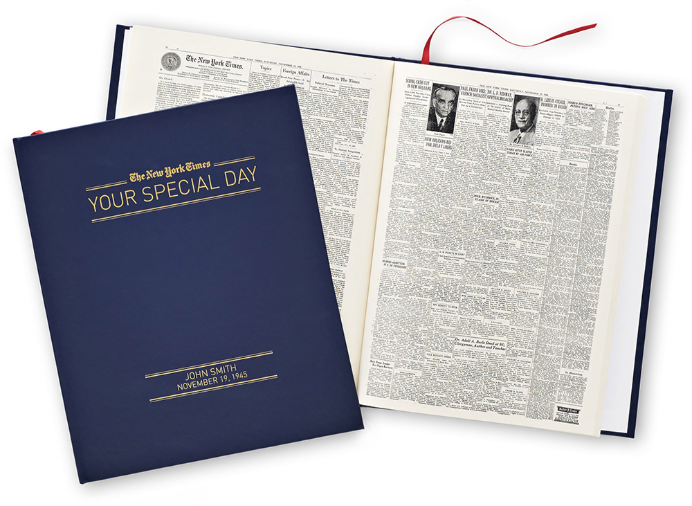 New york times your special day book2