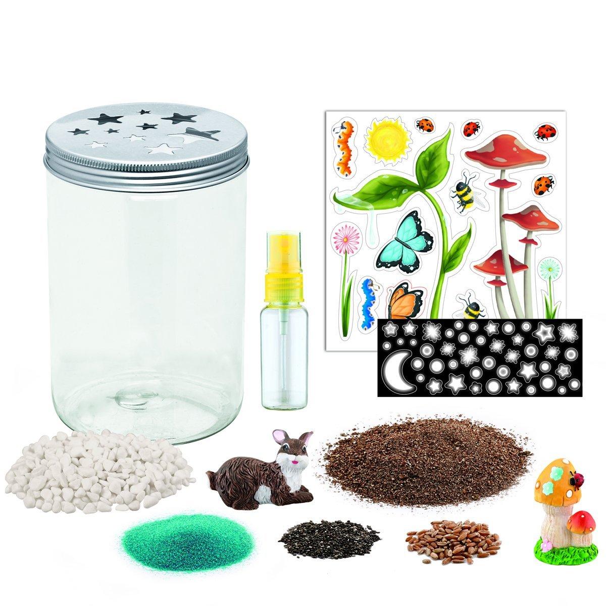 Creativity for kids grow  n glow terrarium 2