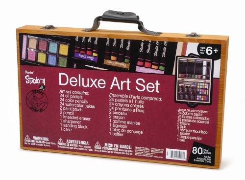 Darice 80 piece deluxe art set 2