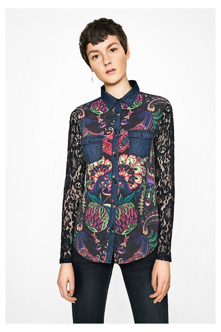Shirt lace2