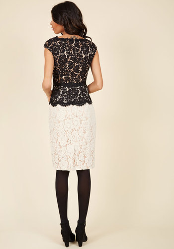 Courageously clad lace dress 2