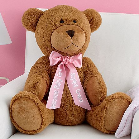 Personalized 27  plush teddy bear 1