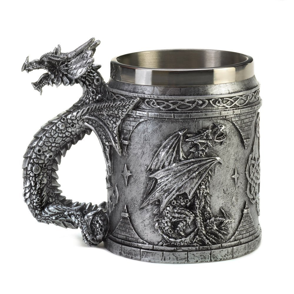 Serpentine dragon mug 1