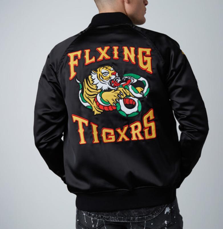 Flying tigers jacket    black2