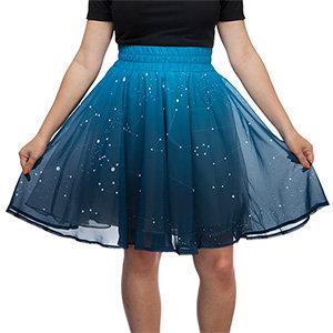 Jhsu twinkling star skirt sparkle white