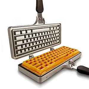 Jmmi the keyboard waffle iron