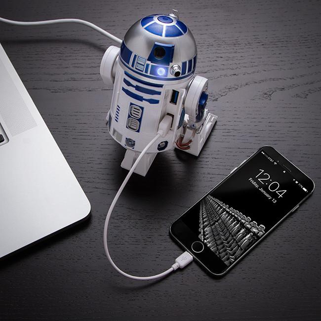 R2 d2 usb 3.0 charging hub2