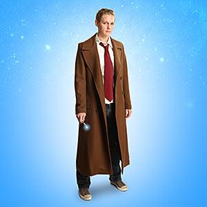 F3a4 ladies 10th doctor coat model