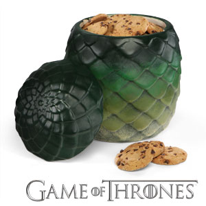 F33e game of thrones dragon egg cookie jar