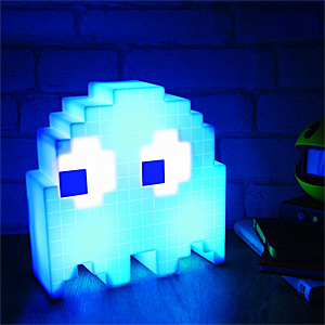 Ilst pac man usb ghost lamp inuse