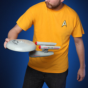 F283 st uss enterprise flying disc throw