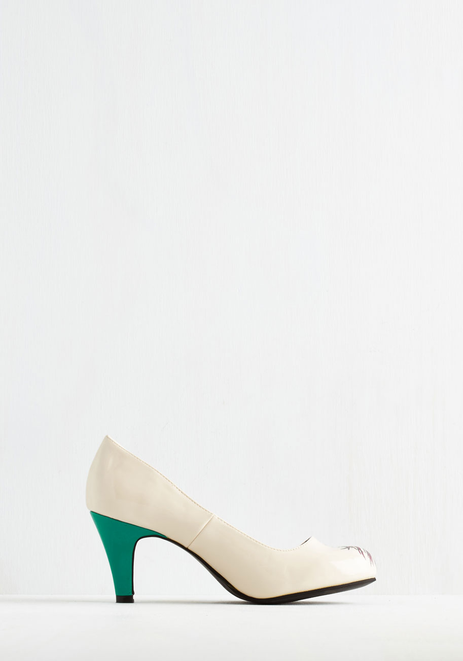 Proudly posh heel in ivory2