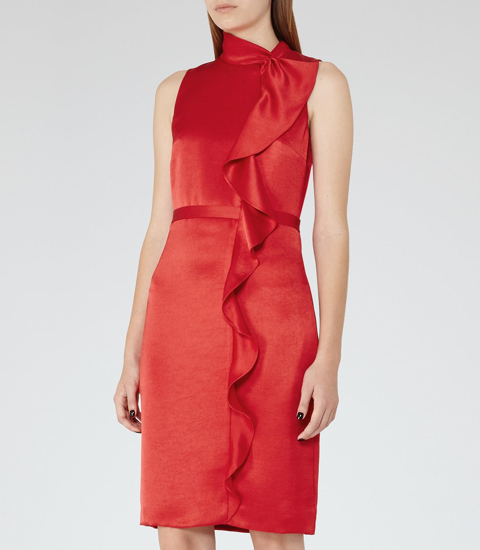 Lola china red dress 2