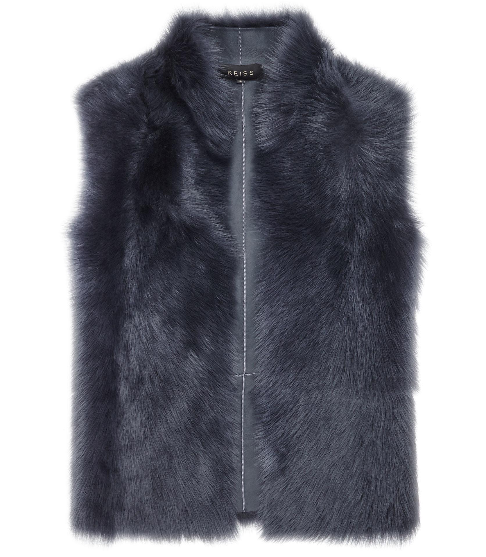 Tessa fur vest 2