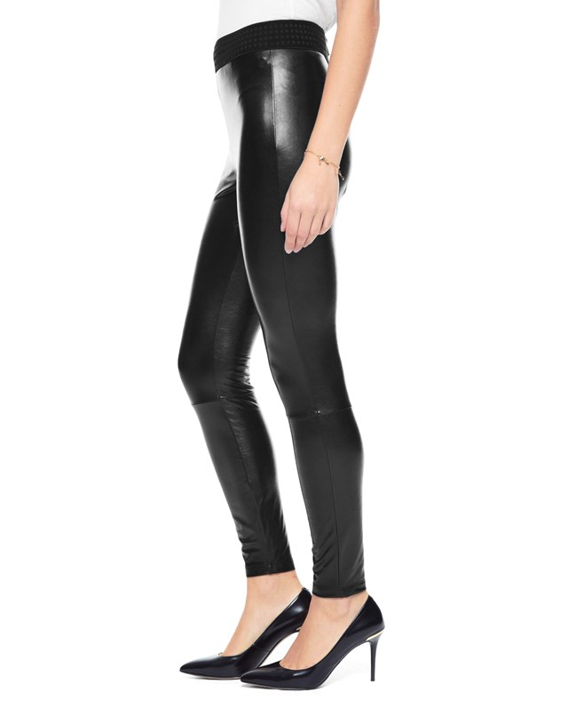 Faux leather legging3