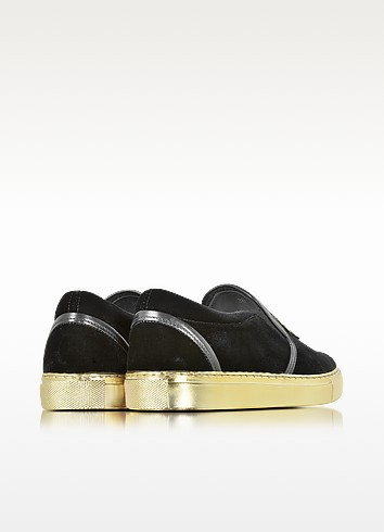 Balmain queen black velvet sneaker3