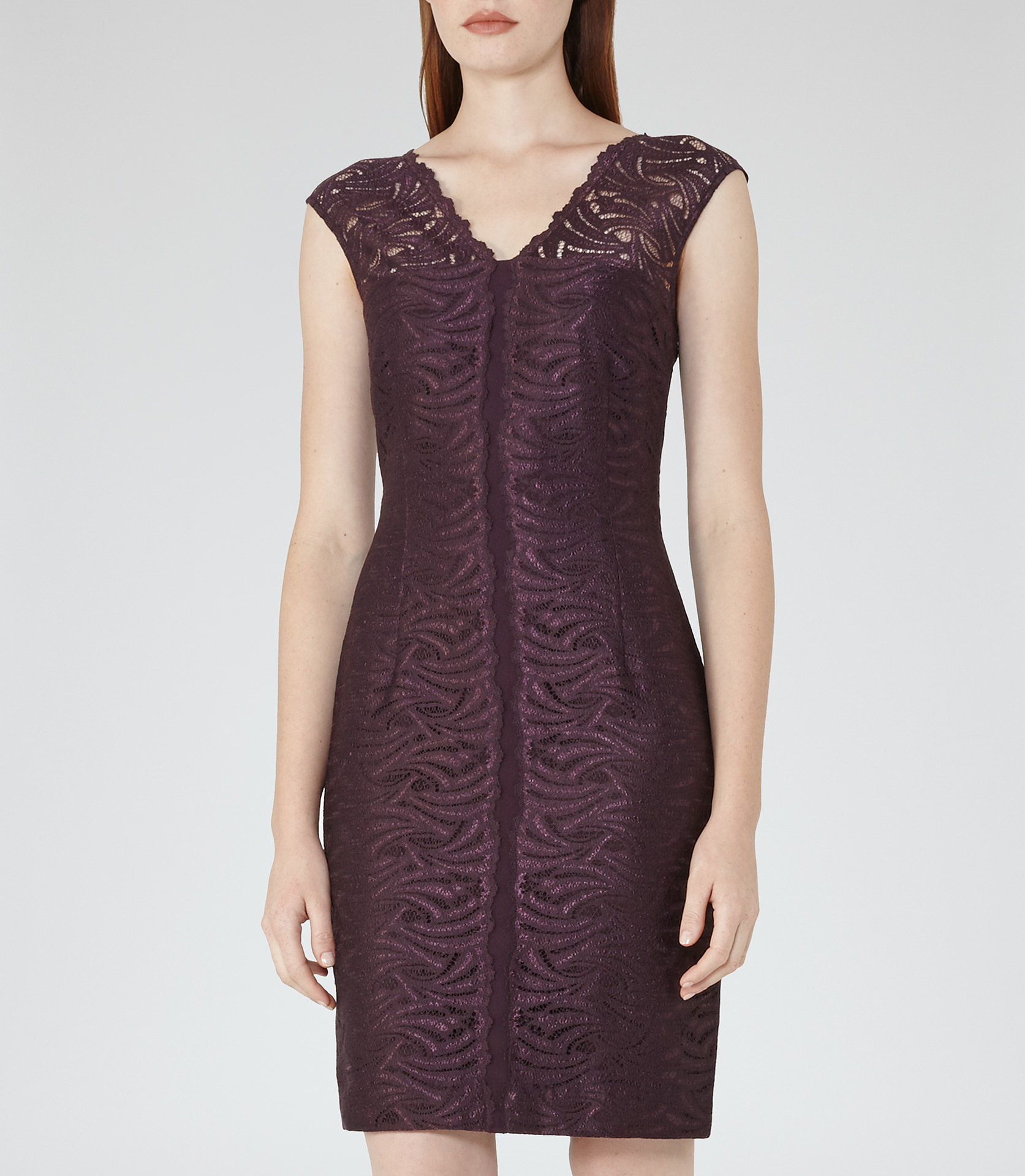 Otto  lace bodycon dress3