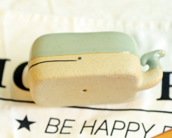 Turquoise whale planter3