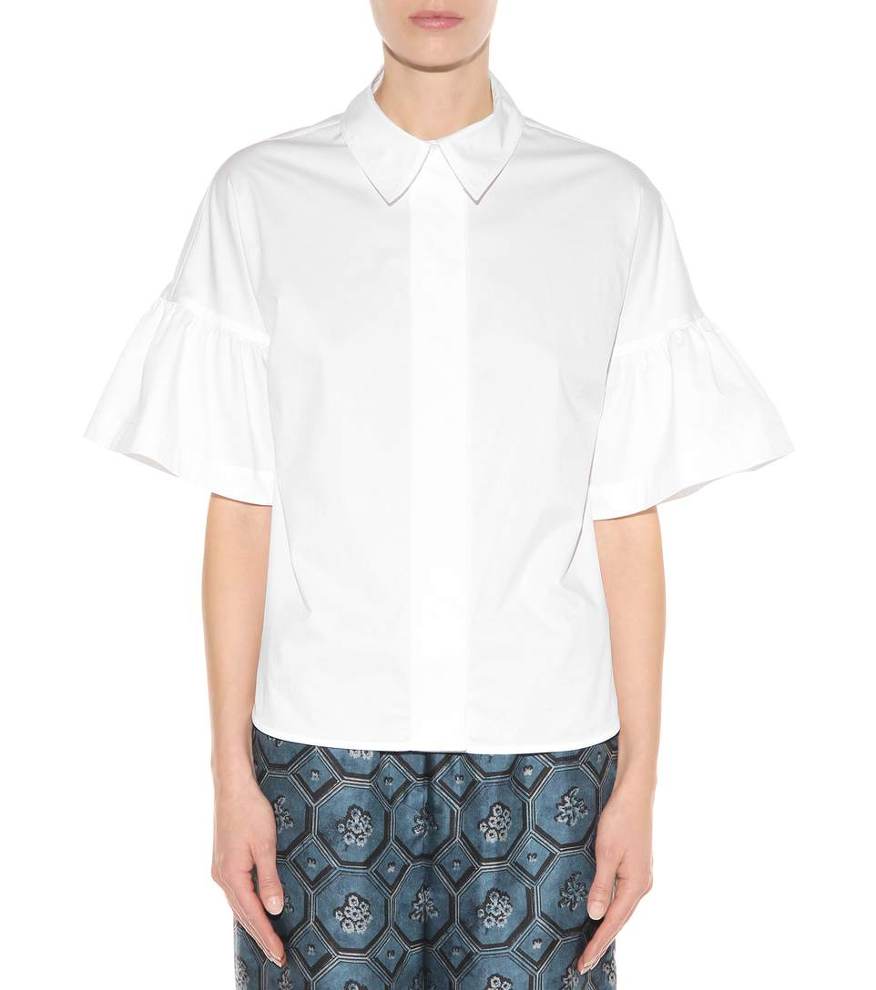 Burberry tansy cotton blouse4