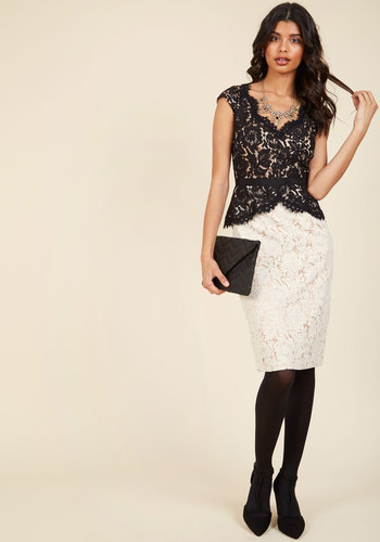 Courageously clad lace dress 3