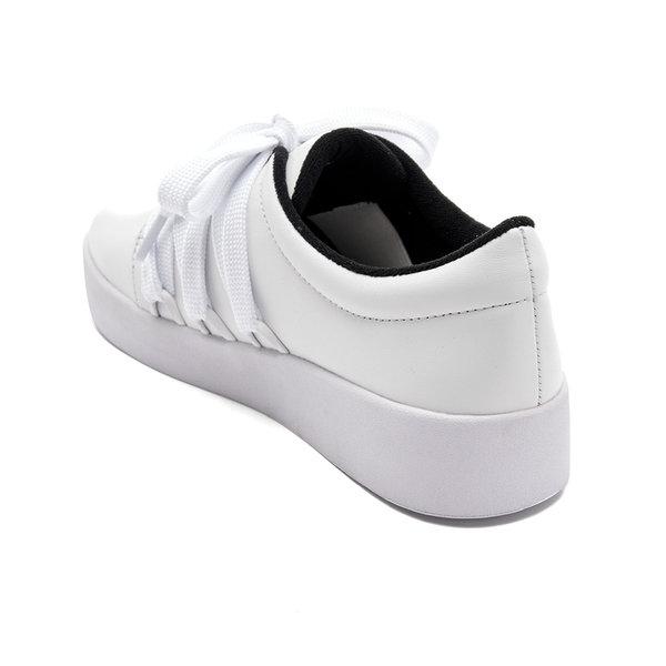 Senso women s arna leather low top trainers   ebony3