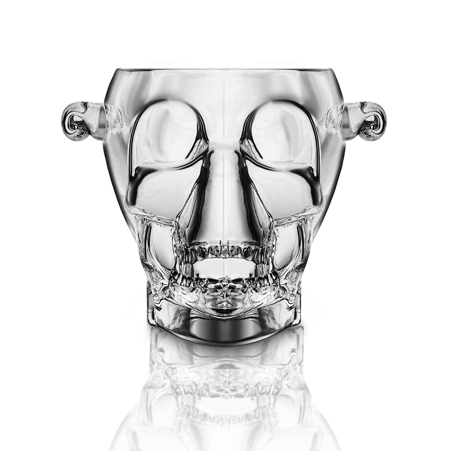 Final touch glass brain freeze skull ice bucket3