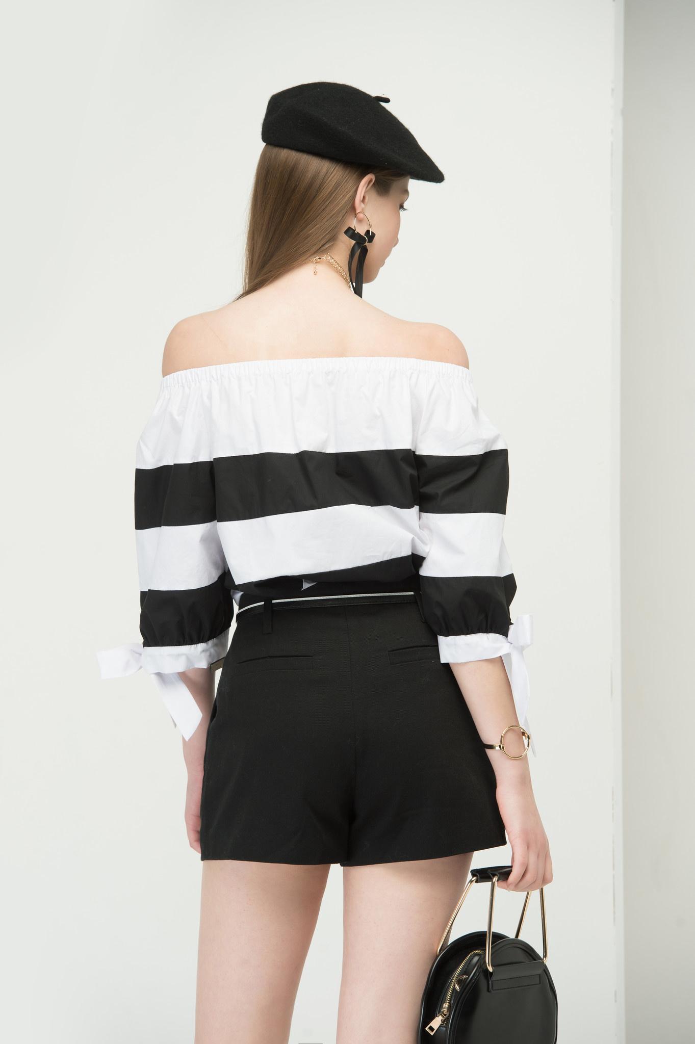 Black belted shorts3