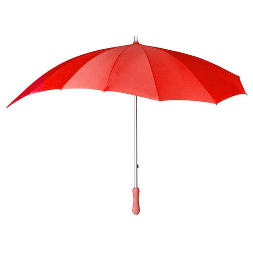 Love heart umbrella   red 3