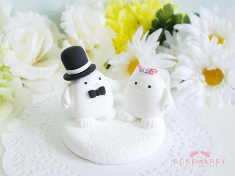 Customized wedding cake topper  4
