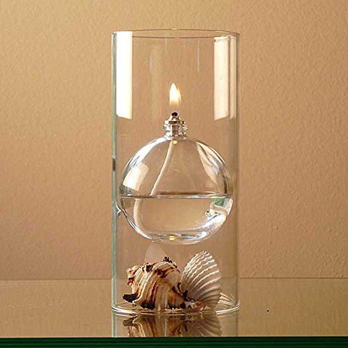 The modern transcend clear glass oil lamp gift set is a unique gift for her4