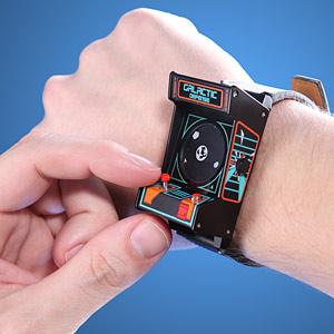 153f classic arcade wrist watch inuse