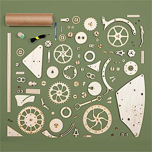 Hshg wooden mechanical clock parts