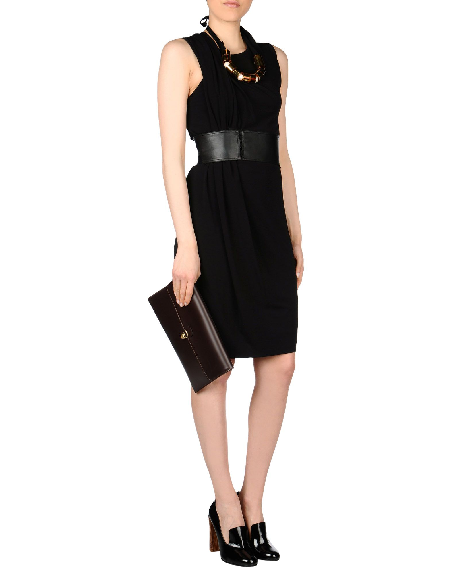Alexander wang black dress