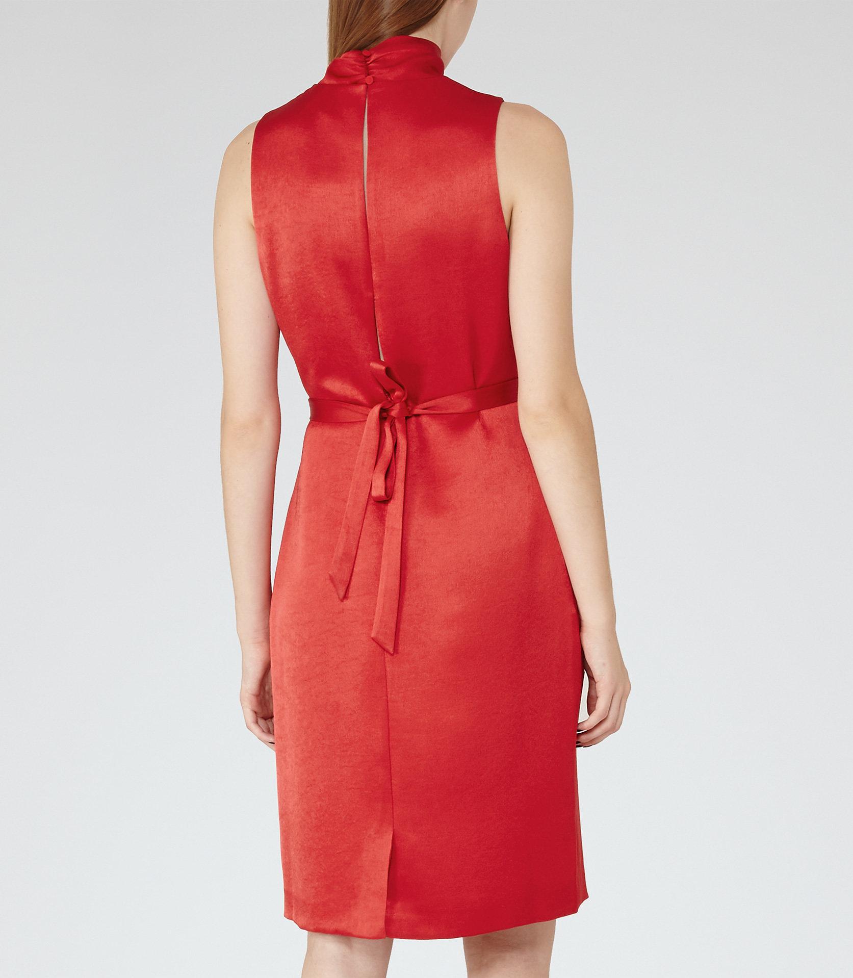 Lola china red dress 3