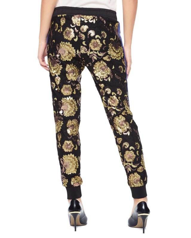 Embellished lace pant3