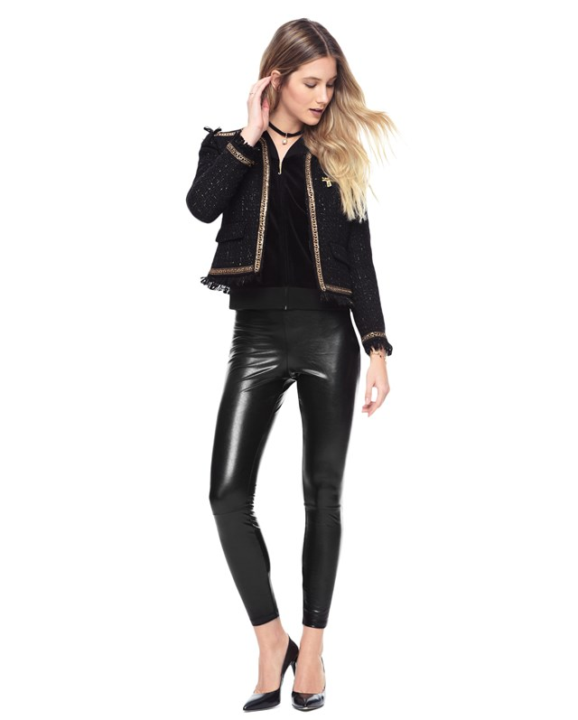 Faux leather legging4