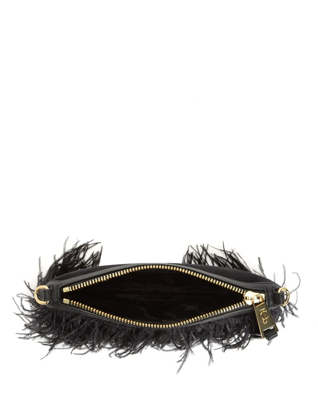 Luxe party feather crossbody4