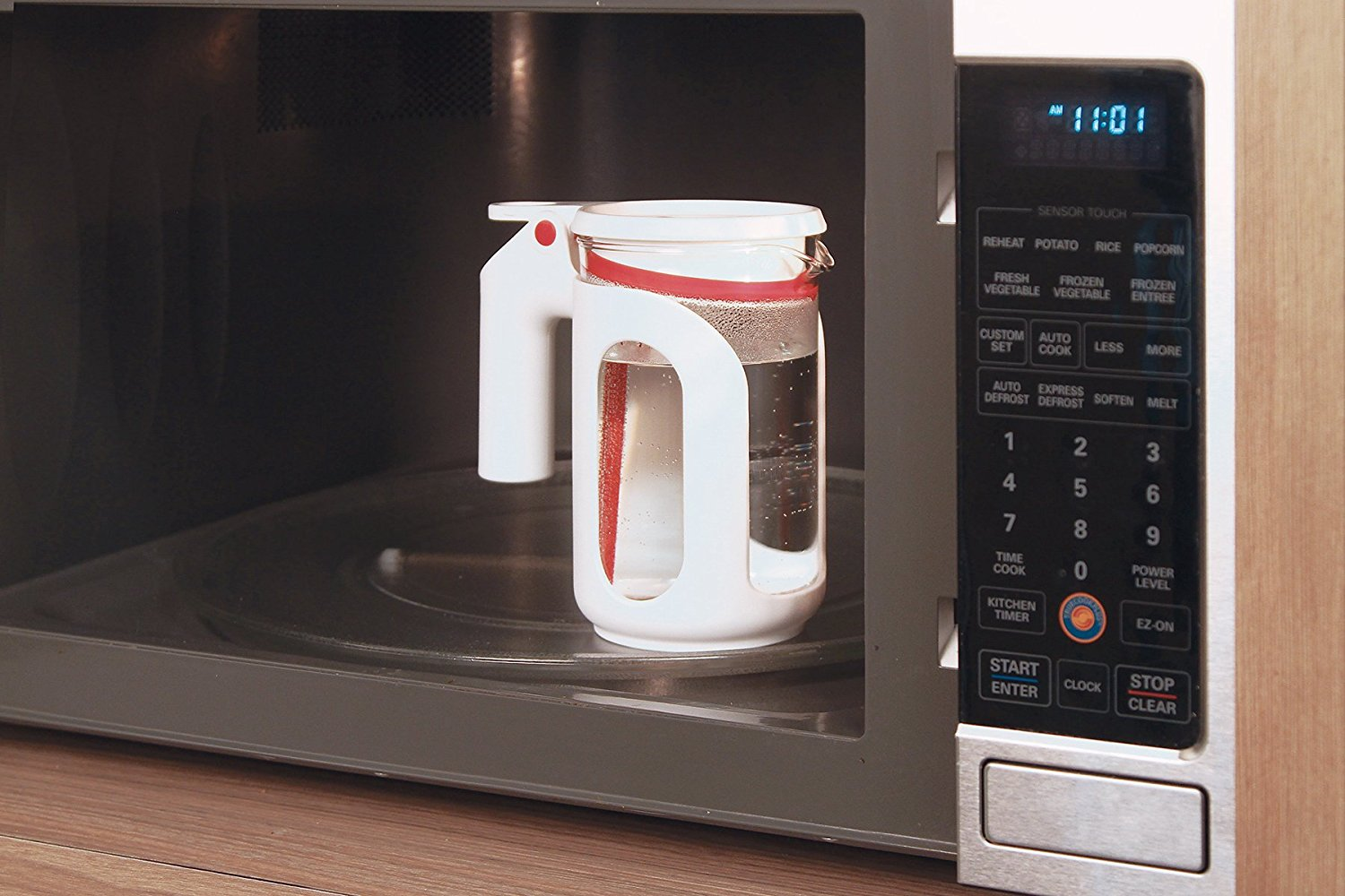 Microwave whistling tea kettle  4