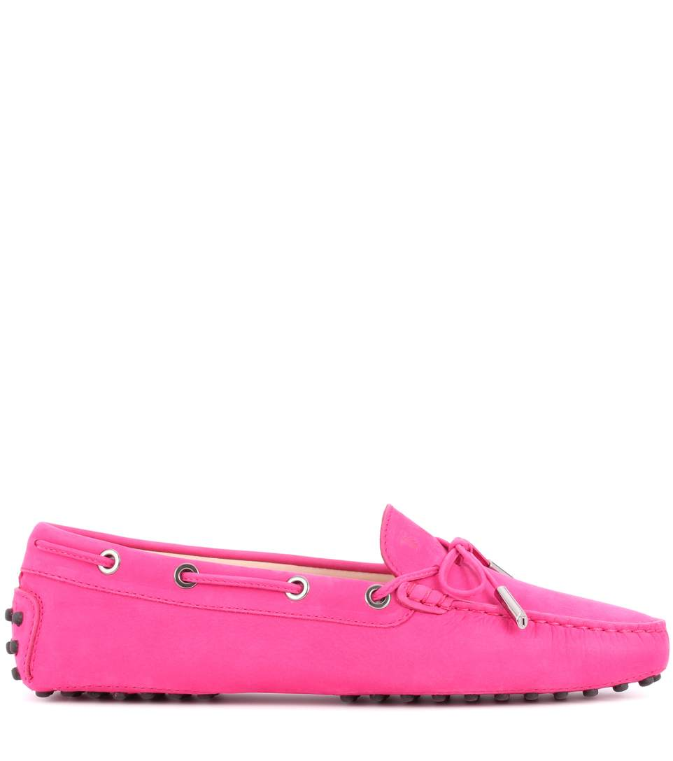 Tod s gommini suede loafers4