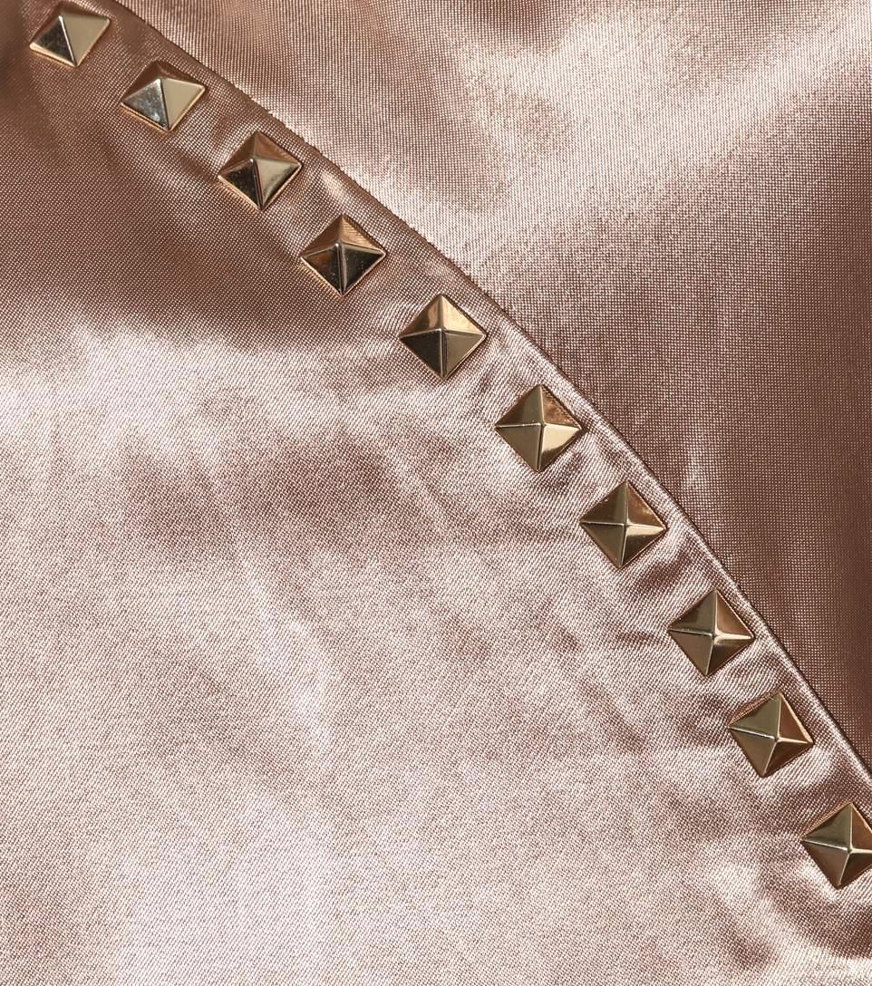 Valentino rockstud untitled satin varsity jacket4