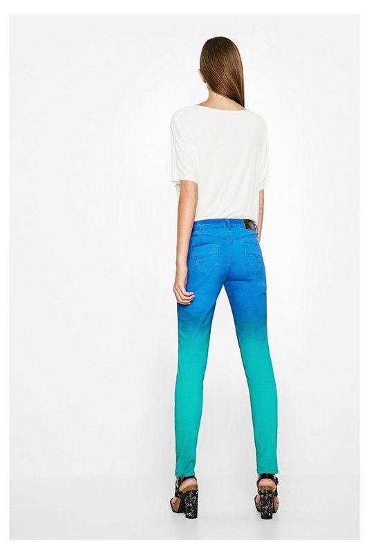 Pants orange skinny 4
