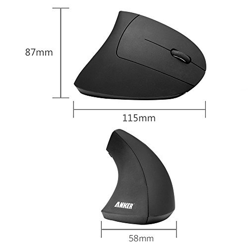 Wireless vertical ergonomic optical mouse3