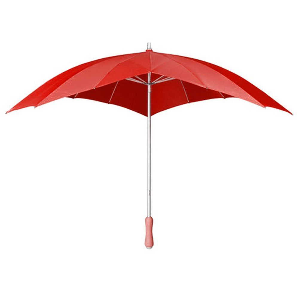 Love heart umbrella   red 4